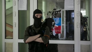 Gefangenes OSZE-Team als Faustpfand
