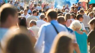 Die Schweizer Bevölkerung wuchs 2016 um 92'400 Personen. Sämtliche Kantone verzeichneten laut den Zahlen eine Bevölkerungszunahme.
