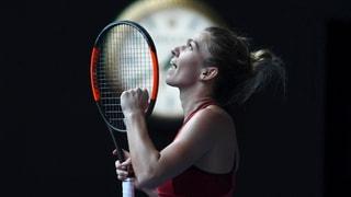Wozniacki e Halep en il final da l'Australian Open