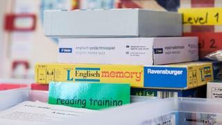 Auch Rätoromanen und Italienischbündner sollen Englisch lernen