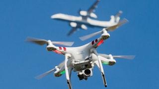 Deutlich mehr Drohnen-Vorfälle