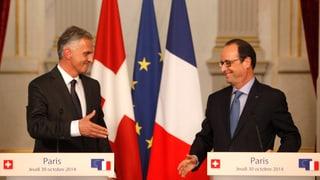 Burkhalter stellt Forderungen an Frankreich