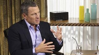 Armstrong: «Ich schäme mich für mein Verhalten»