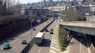 Bund will St. Galler Stadtautobahn ausbauen
