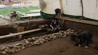 Archäologen legen in Port eine römische Villa frei