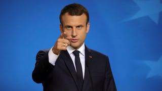Emmanuel Macron machte beim EU-Gipfel eine gute Figur. Lesen Sie hier, wieso man ihn noch nicht zu sehr zur Lichtfigur machen sollte.
