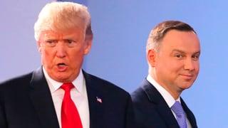 US-Präsident tritt der EU und Putin ans Schienbein