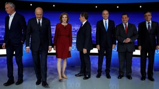 «Les Républicains»: Diese 7 Kandidaten wollen ins Elysée