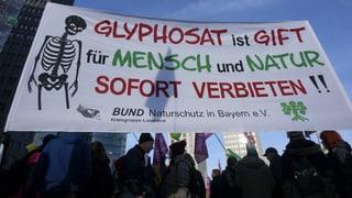EU-Behörde: Glyphosat «wahrscheinlich nicht krebserregend»