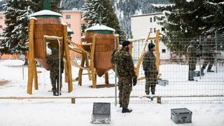 L'armada ha cumenzà cun las preparativas per il WEF a Tavau