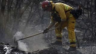Ende im Kampf gegen die Flammen in Sicht