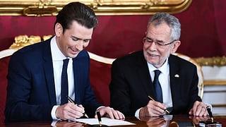 Nov cabinet austriac è saramentà - Kurz è chancelier