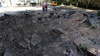 Offensive auf Donezk verstärkt – Angst vor russischem Einmarsch