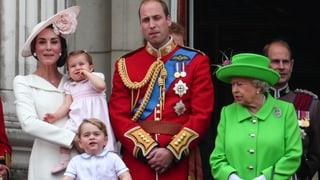 William kassiert Rüffel von der Queen