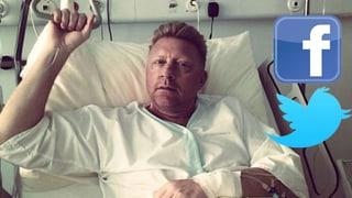 Social-Media-Rückblick: Becker im Bett und Meier im Flieger