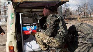 Waffenruhe in der Ukraine in greifbarer Nähe