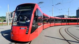 Berner Kantonsparlament unterstützt Tramlinie