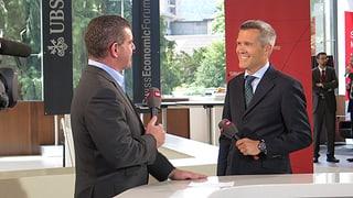 Peter Spuhler fühlt UBS-Chef Schweiz auf den Zahn