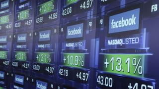 Facebook-Aktie ist so wertvoll wie nie
