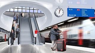 Durchgangsbahnhof Luzern soll vorgezogen werden