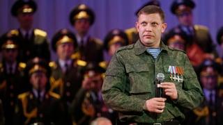 Exit-Polls in der Ostukraine: 81 Prozent für Rebellenführer