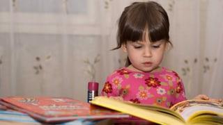 Darf man Dreijährige in den Deutschunterricht schicken?