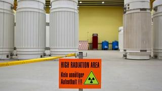 Mehr Platz für radioaktive Abfälle benötigt
