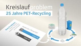 Das PET-Recycling gerät ins Stottern