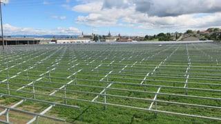 Solarstrom für die ganze Stadt: Payerne macht's vor