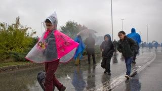 Sloweniens Polizei geht gewaltsam gegen Flüchtlinge vor