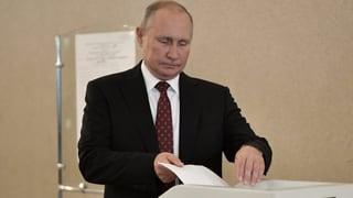 Moskaus Wähler verpassen Putin einen Denkzettel