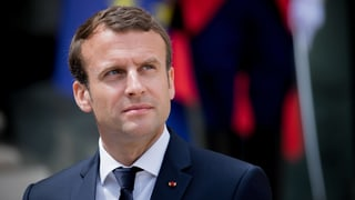 Haushoher Sieg für Macron