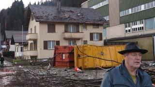 Überschwemmung nach Felssturz in Wolhusen verursacht grosse Schäden