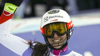 Wendy Holdener segunda a Lienz
