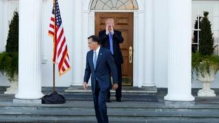 Offener Streit um den künftigen US-Aussenminister