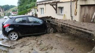 Unwetter in Region Zofingen zweitgrösstes Schadensereignis