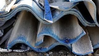 Tod durch Asbest: Glarner Familie erhält Opferhilfe