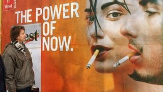 Organisationen fordern totales Werbeverbot für Tabak