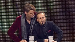 Surdada dals 10avels Swiss Music Awards a Turitg