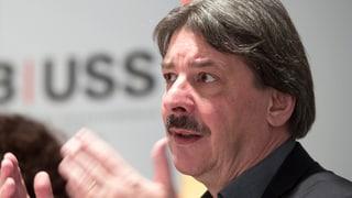 Rechsteiner tritt als Präsident des Gewerkschaftsbundes zurück