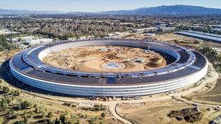 Warum im Silicon Valley Apple, Google & Co. auf imposante «Konzern-Kathedralen» setzen.