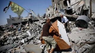 Chronologie: Wie es zum jüngsten Krieg in Gaza kam