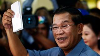 Denkzettel für Kambodschas autoritären Herrscher