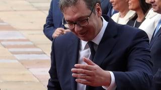 «Präsident Vučić erwartet Dich»