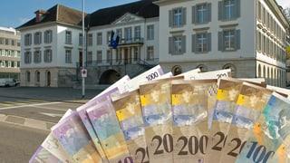 Der Aargau rutscht in die roten Zahlen