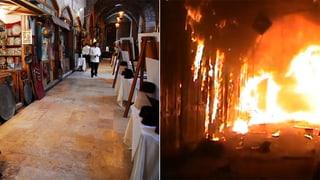 Vorher – nachher: Wie Aleppo zur Hölle wurde