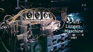 Die Herz-Lungen-Maschine von 1967 (Artikel enthält Video)