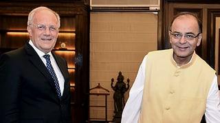 Schneider-Ammann in Indien: «Beschnuppern mit neuer Regierung»