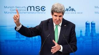 Kerry in München auf Freundschaftstour