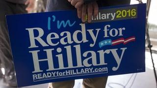 Hillary Clinton verlässt sich diesmal nicht auf ihren Ruf